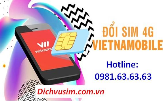 Cách đổi sim 4G Vietnamobile ngay tại nhà đơn giản và dễ dàng