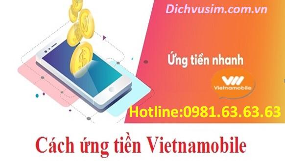Cách ứng tiền Vietnamobile nhanh nhất, dễ dàng nhất.