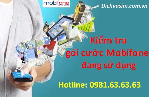 4 Cách kiểm tra các gói cước MobiFone đang sử dụng.