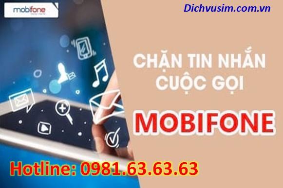 Cách chặn cuộc gọi, tin nhắn mạng Mobifone.